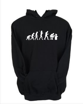 JuiceBubble Gamer Evolution Men's Black Hoodie