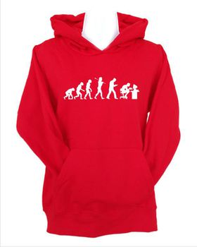 JuiceBubble Gamer Evolution Men's Red Hoodie