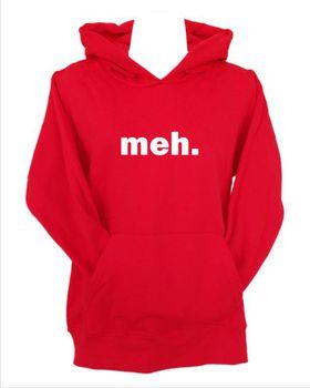 JuiceBubble Meh Men's Red Hoodie