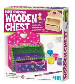 4M - Paint Your Own Wooden Chest