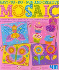 4M - Mosaic - Bfly/Ccake/Flower/Fair