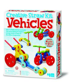 4M - Tubee Creative Kit - Vehicles