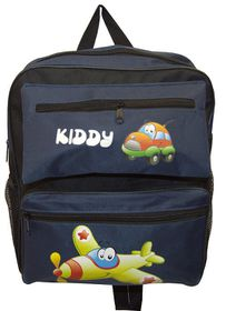 Parco Kiddy Aeroplane Backpack - Navy