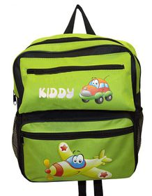 Parco Kiddy Aeroplane Backpack - Green