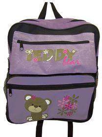 Parco Kiddy Teddy Backpack - Purple