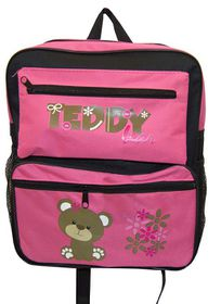 Parco Kiddy Teddy Backpack - Pink