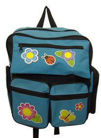 Parco Kiddy Butterfly Backpack - Blue