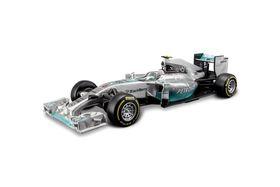Burago 1/32 Mercedes-Benz F1 W05 Hybrid 2014 (#6 - Nico Rosberg)