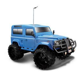 Maisto 1/16 R/C Land Rover Defender in Blue