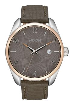 Nixon Bullet Leather Rose Gold / Taupe - A4732214-00