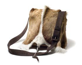 Leechi Designs Nat Springbok Postman Bag