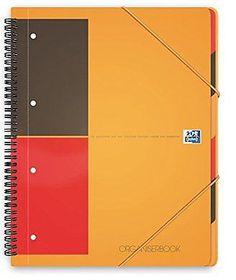 Oxford International A4 Ruled Organiser Book
