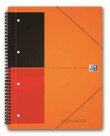 Oxford International A4 Ruled Meeting Book