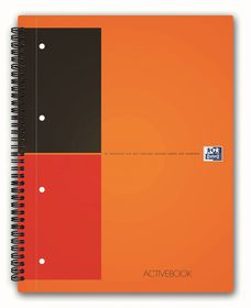 Oxford International A4 Ruled Active Book