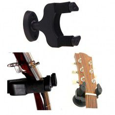 Guitar Wall Hanger - Black