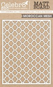 Celebr8 Matt Board Equi - Moroccan Pattern
