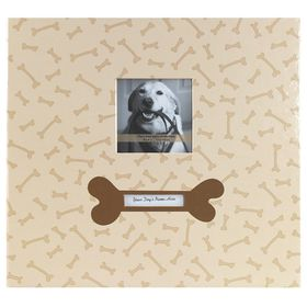 MCS 12x12 Postbound Album - Dog