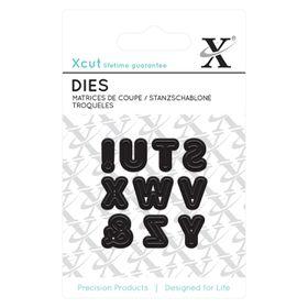 Xcut Mini Dies - Alphas Pattern 3