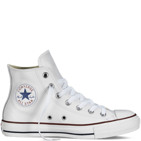 Converse All Star Unisex Chuck Taylor Leather Hi - White
