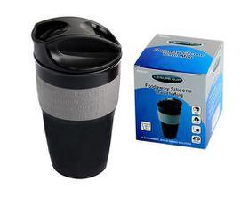 LeisureQuip - Foldaway Silicone Travel Mug - 350ml