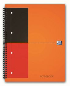 Oxford International A5 Ruled Active Book