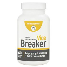 See Yourself Well Vice-Breaker - Herbal Quit Smoking Aid - 60 capsules