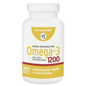 See Yourself Well Omega-3 1200 300 softgels