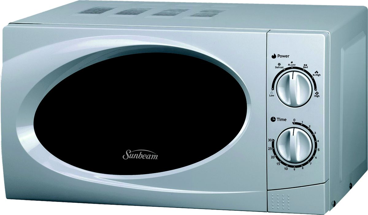 Sunbeam - 20 Litre Microwave Oven - Silver - 6001889044066 | Buy ...