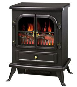 Goldair - Fire Place Heater - Black