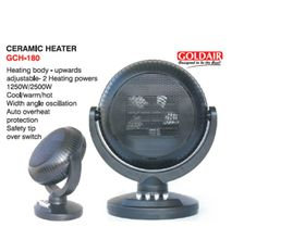 Goldair - Ceramic Heater - Black