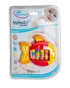 Soft-Beginnings - Whizzy Rattle Teether-Roller Fish