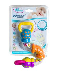 Soft-Beginnings - Whizzy Rattle Teether