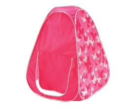 Jeronimo Toy - Pink & Camo Butterfly Tent