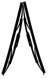 Fragram - Wiper Blades 16 inch Per Pair - Black