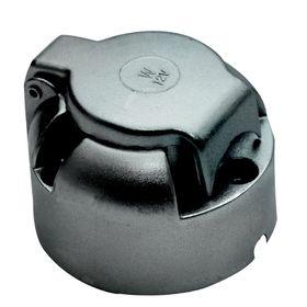 Fragram - 7 Pin Trailer Metal Socket - Silver