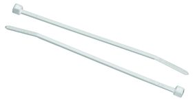 Fragram - 100 Pack Cable Ties 395x4.7cm - White