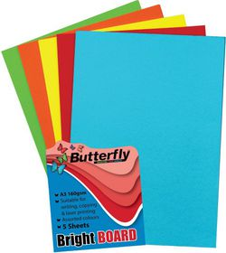 Butterfly A3 Bright Board 5s - Mixed