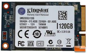 Kingston mS200 Series - 120GB mSATA SSD