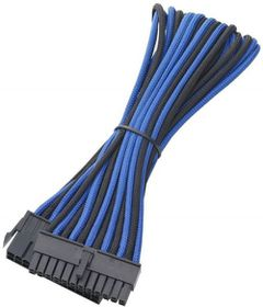 BitFenix Dual Tone Blue / Black ATX 24-Pin 45cm Extender Cable