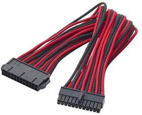 BitFenix Dual Tone Red / Black ATX 24-Pin 45cm Extender Cable