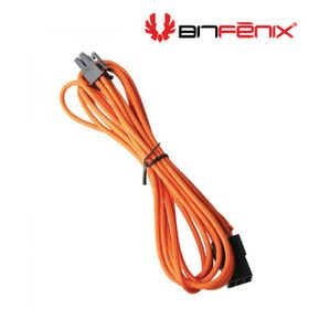BitFenix Dual Tone Orange / Black 6-Pin 45cm VGA Power Extender Cable