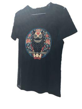 Owl T-shirt - Black