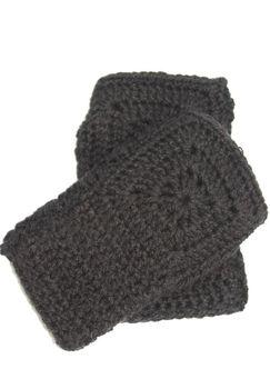 Vine Accessories Fingerless Gloves - Black