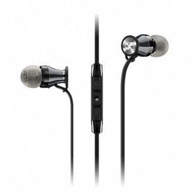 Sennheiser MOMENTUM M2 In-Earphones for iPhone - Black Chrome