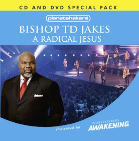 A Radical Jesus by TD Jakes - 1CD/1DVD