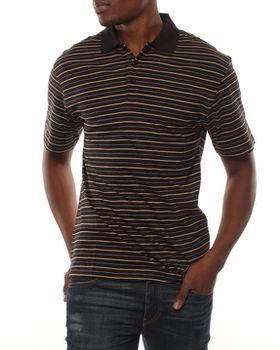 Patrick J Rotation-Stripe Golfer - Black