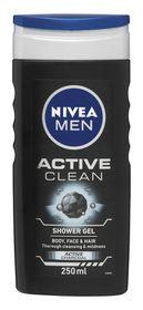 Nivea Men Active Clean Shower Gel - 250ml