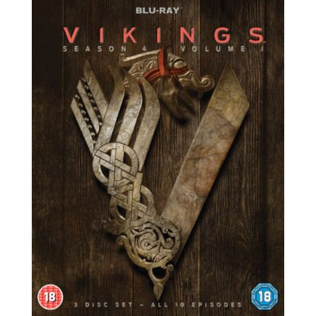Vikings: Season 4 - Volume 1(Blu-ray)