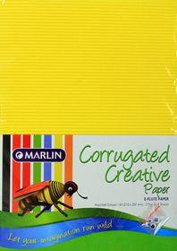 Marlin E-Flute Corrugated Creative Paper 275g