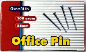 Marlin Office Pins 26mm 100g